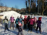 Наши лыжники!